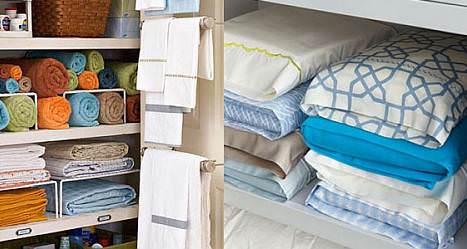 Как аккуратно распределить постельное белье