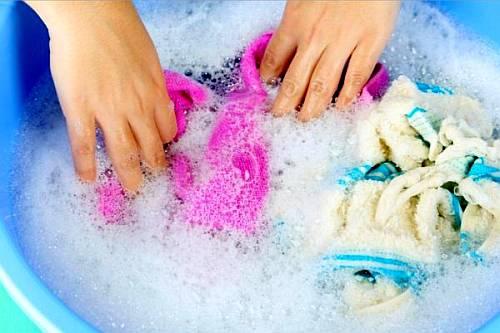Как стирать кухонные полотенца