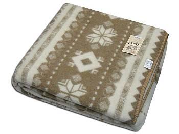 Фото: одеяло из овечьей шерсти