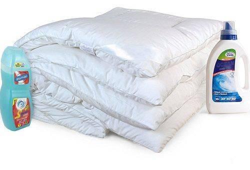 Ручная стирка одеял