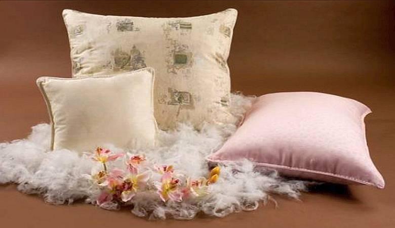 Как убрать запах из перьевых подушек