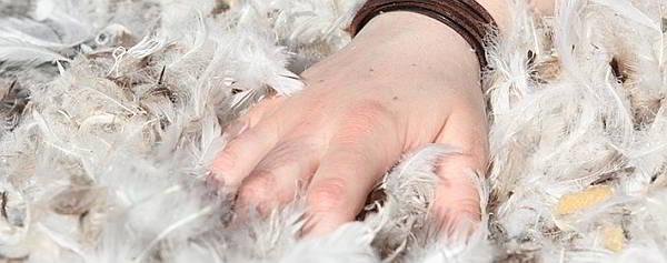 Как стирать пуховые подушки руками
