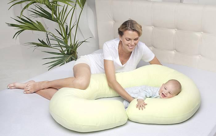 Способы использования подушки после рождения ребенка