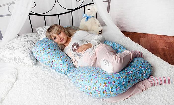 Как пользоваться подушкой для беременных