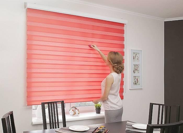 Как правильно ухаживать за рулонными шторами