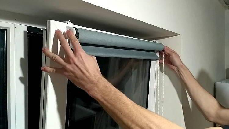 Определяемся с размером рулонных штор на пластиковое окно