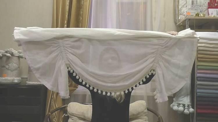 Фото: как снять римскую штору для стирки