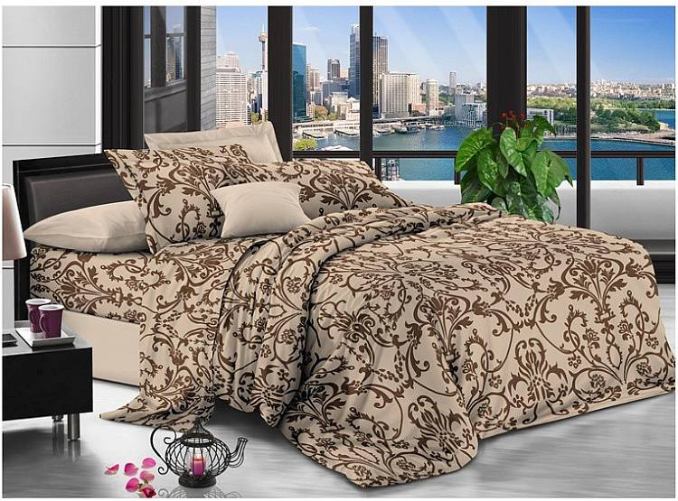 Из какой ткани выбрать постельное белье: бязь или сатин